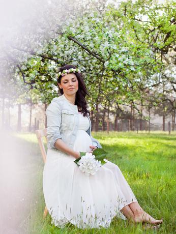 Kasia sesja ciążowa