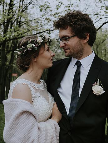 K+M wesele hotel Dąbrówka