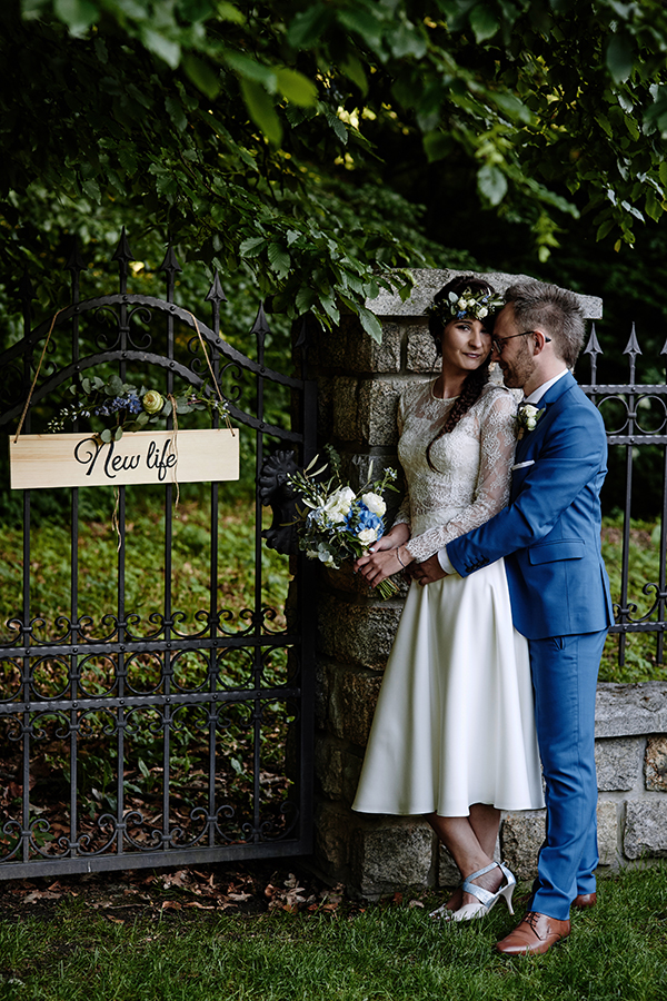 ślub plenerowy leśniczówka M+A