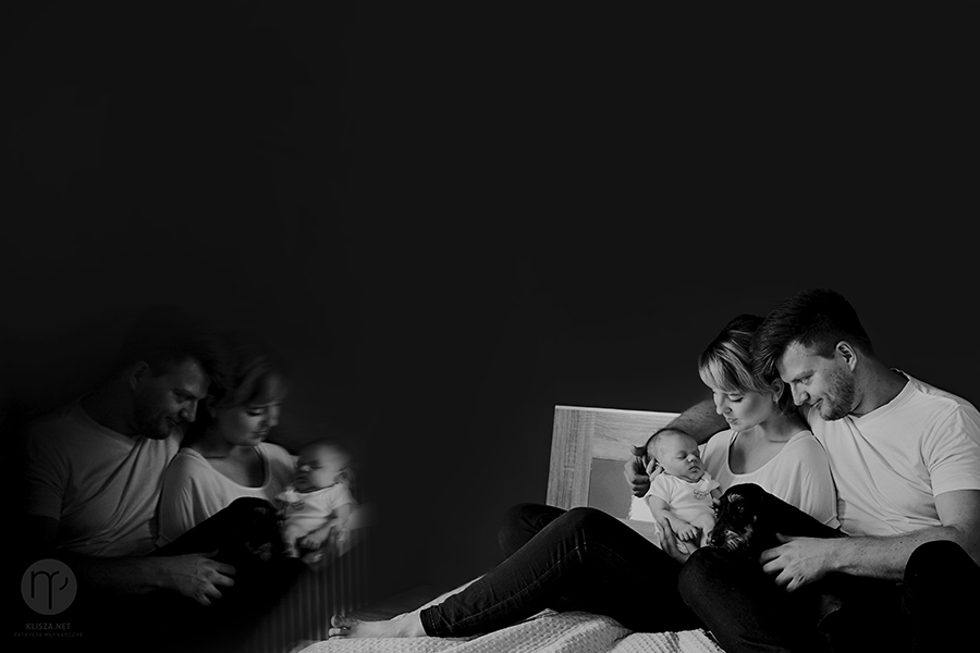 sesja rodzinna noworodkowa