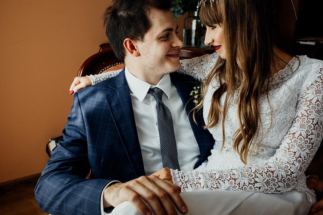 ślub w plenerze leśniczówka