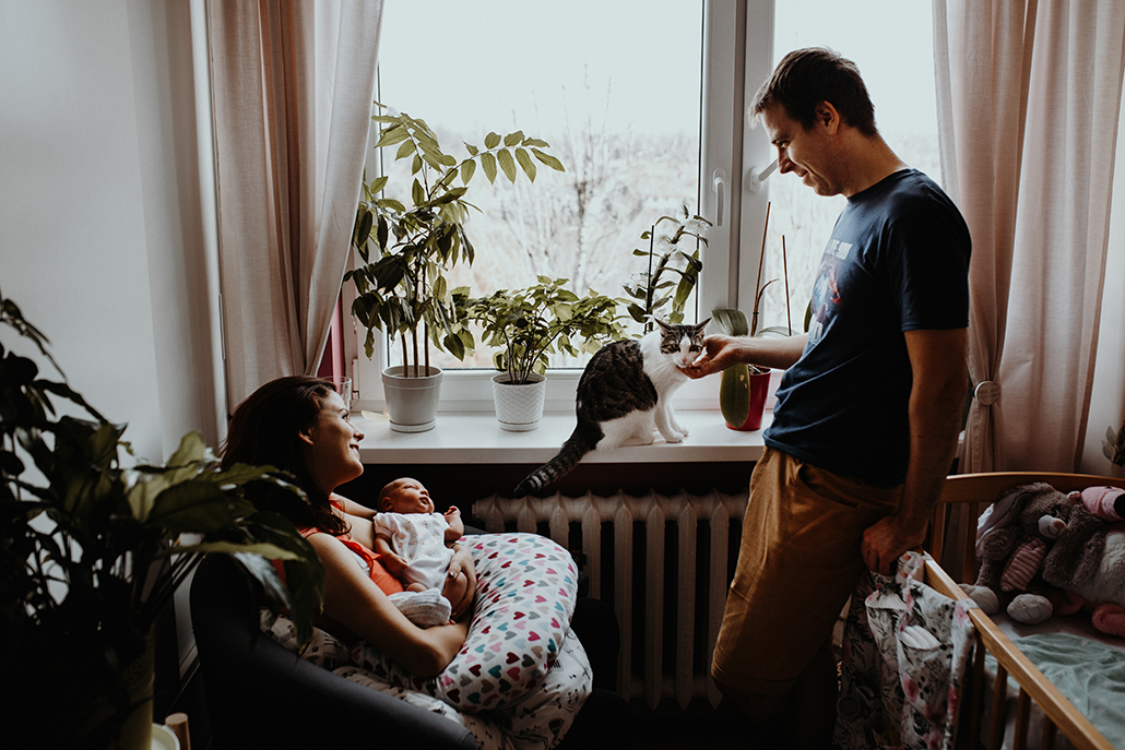 sesja noworodkowa sesja rodzinna