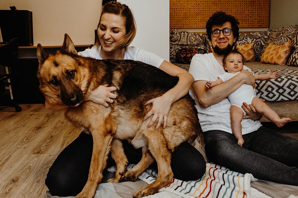 sesja rodzinna lifestyle Śląsk