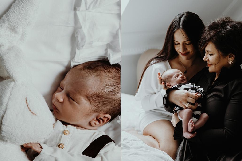 sesja rodzinna z noworodkiem